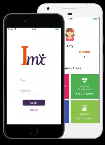 imi app screenshots phones